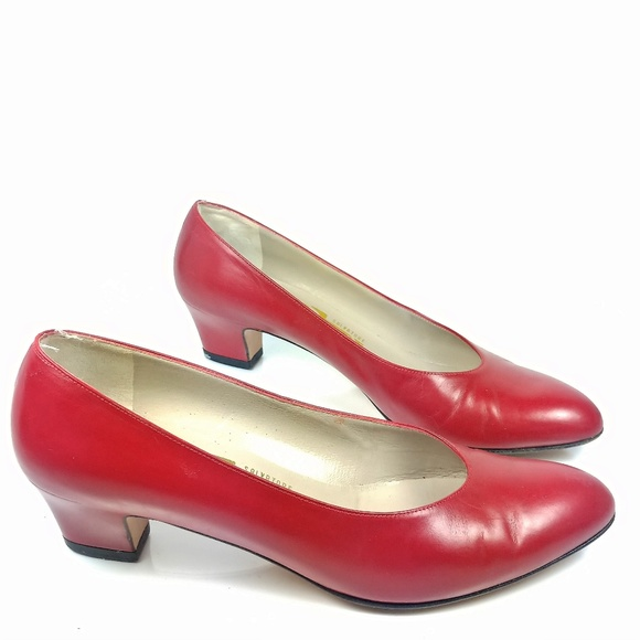 ed8ef1185b Salvatore Ferragamo Shoes | Red Pumps Sz 8aa | Poshmark